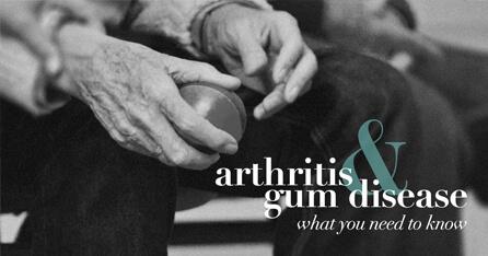 Arthritis gum disease