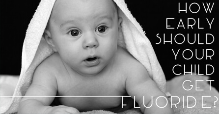 Early Fluoride for babies graphic