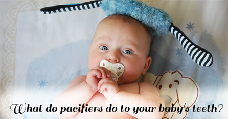 Pacifiers teeth graphic
