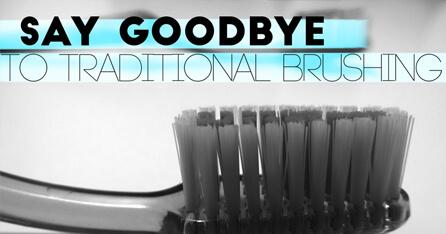 Sonic toothbrush graphic
