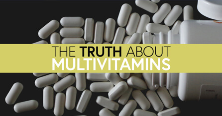 The truth about multivitamins graphic