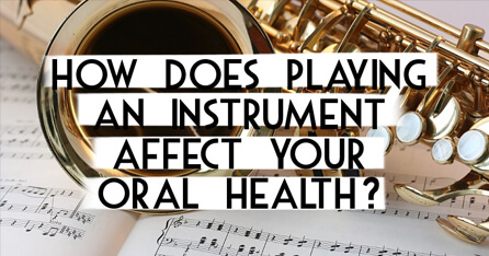 Music and Dental Health graphic