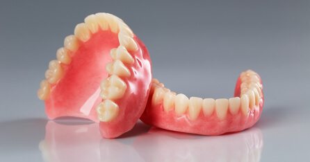 Pair of dentures
