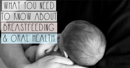 Breastfeeding oral health graphic