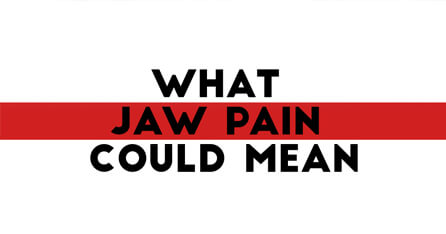 Jaw pain graphic