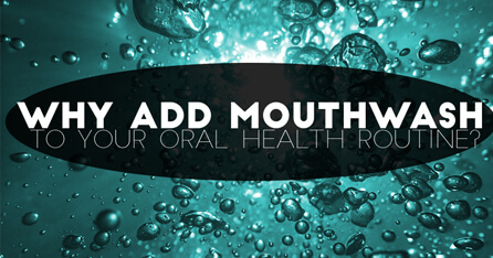 Why add mouthwash graphic